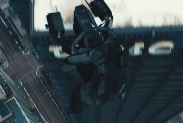 The Bat, the Dark Knight's aerial assault vehicle, flies into action in THE DARK KNIGHT RISES.