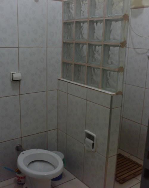 Gabinete Para Banheiro Tijolo de vidro para banheiro -> Decoracao Com Tijolo De Vidro No Banheiro