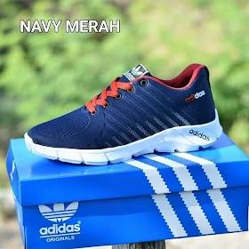 Sepatu Adidas Pria Merah