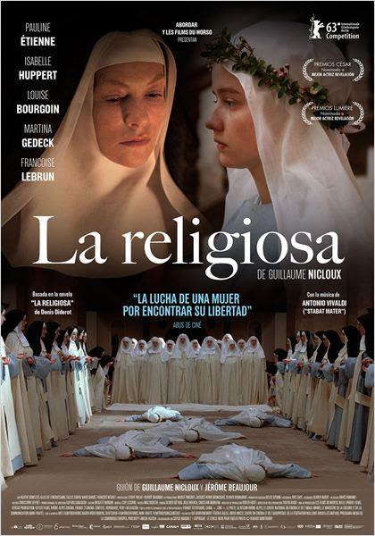 La religiosa : Cartel