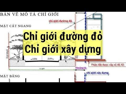 Hiểu rõ Chỉ giới đường đỏ và Chỉ giới xây dựng trong mua bán Bất động sản
