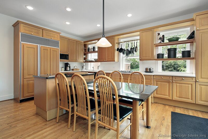 Kitchen Colors with Wood Cabinets