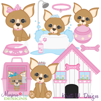Download I Love My Chihuahua-Girl SVG Cutting Files Includes ...
