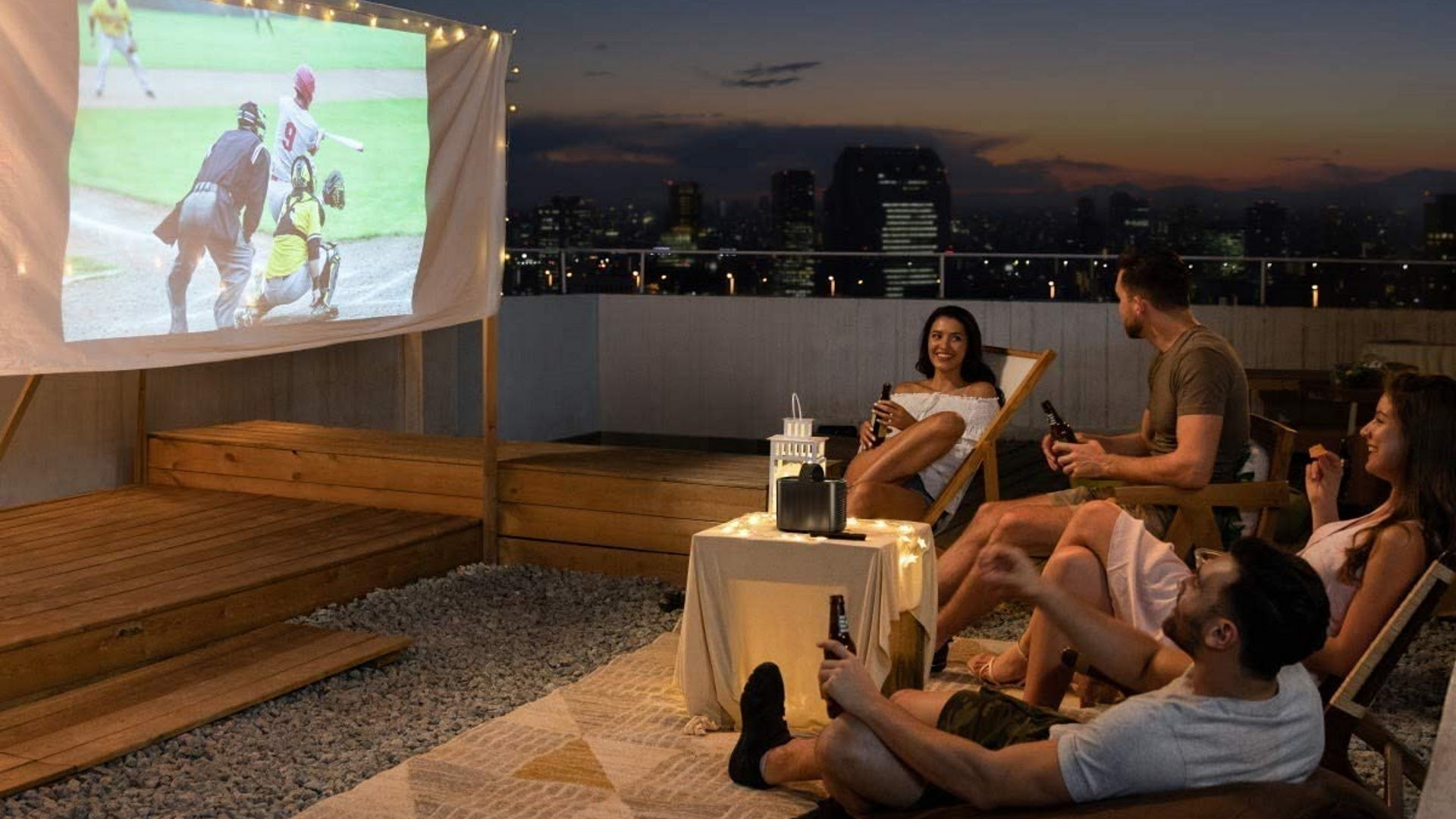 Best Outdoor Projector 2021 Get The Theater Experience Real Homes