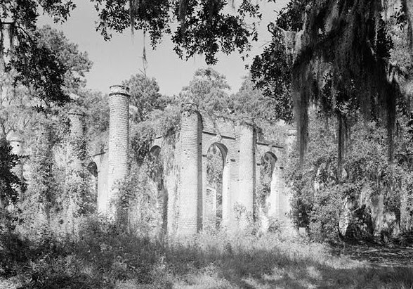 File:Prince William's Parish Church (Ruins), Sheldon vicinity (Beaufort County, South Carolina).jpg