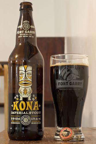 Review: Fort Garry Kona Imperial Stout (2013) by Cody La Bière