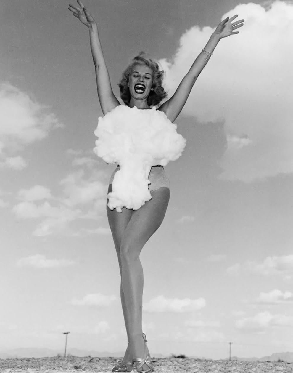 2. Мисс Атомная бомба, 1957 конкурс, королева, красота