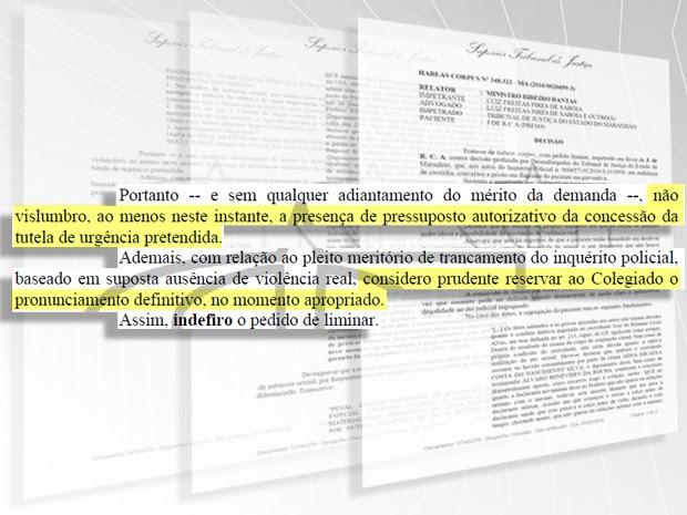 Decisão do STJ foi publicada na sexta-feira (5) (Foto: G1)