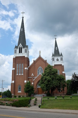 The church of Saint John the Baptist, Dayton, Minnesota