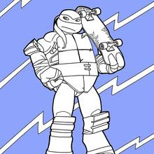 Dibujos Para Colorear Tortugas Ninja Eshellokidscom