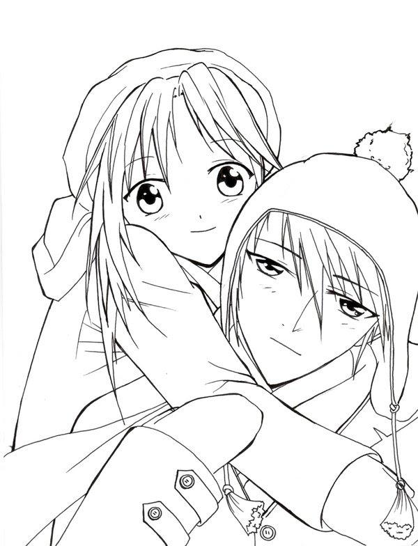 Anime Para Colorear Pintar E Imprimir