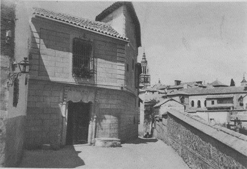 Corredorcillo de San Bartolomé a principios del siglo XX