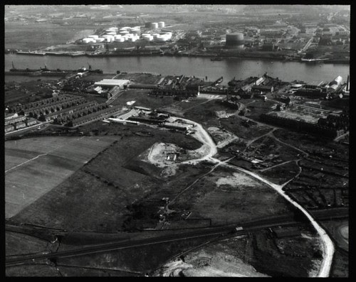 Tyne Tunnels Aerial View