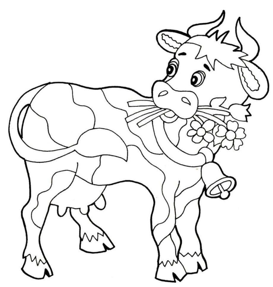 luxus malvorlagen kuh kostenlos | top kostenlos färbung