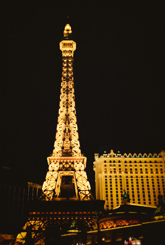 Eiffel tower - Paris Casino - Las Vegas - Copyright © 2013 Marcin Michalak Photography.