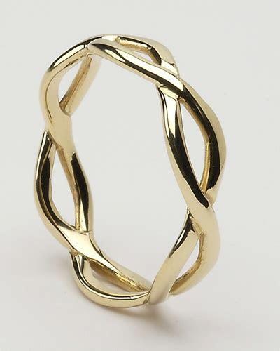Ladies Celtic Infinity Wedding Rings LG WED163