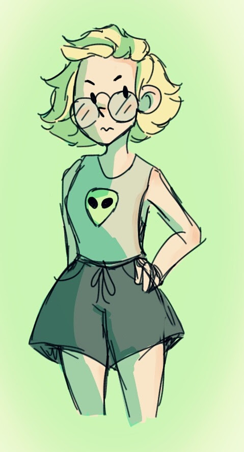 Human peri is too cute