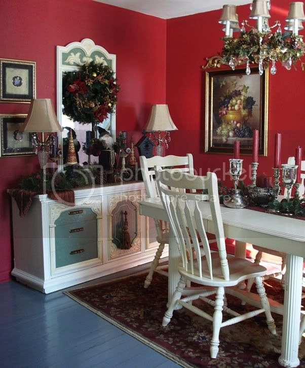Happy To Design: Christmas in the Dining Room...A Christmas Past