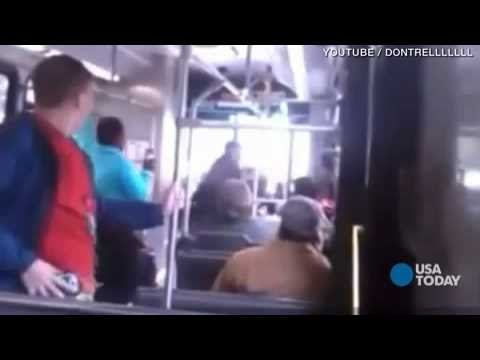 WTF : The Bus Driver gets SUSPENDED For Upper Cutting The $#it Out Teen Girl For Not Having A Ticket