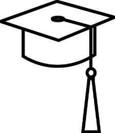 Graduation cap clipart clipart 2