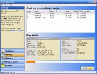 Sauvegardez votre disque dur avec DriveImage XML