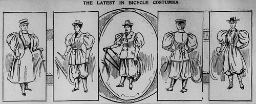 Bicycle Suits for Women 1895