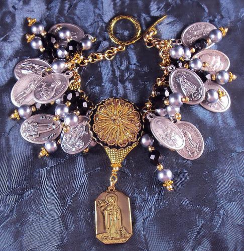 St. Martin de Porres Charm Bracelet  by inspirational