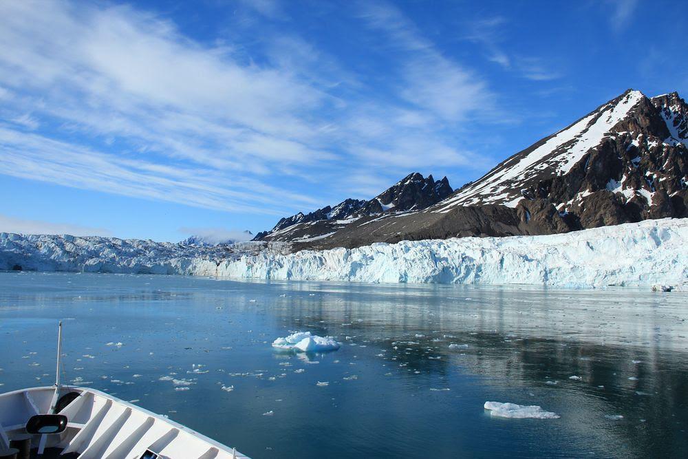 Glaciers, Svalbard