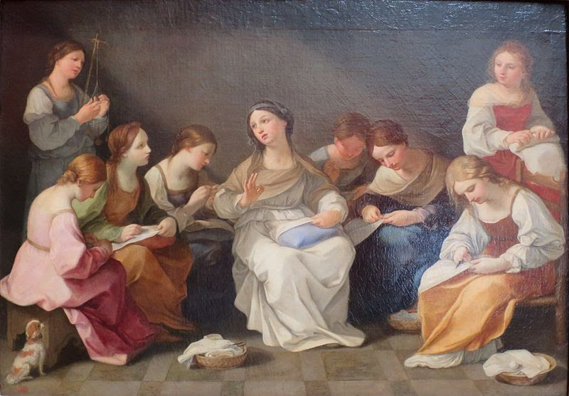 File:Guido Reni - Education of the Virgin - WGA19315.jpg