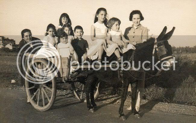 Meninos na carroça