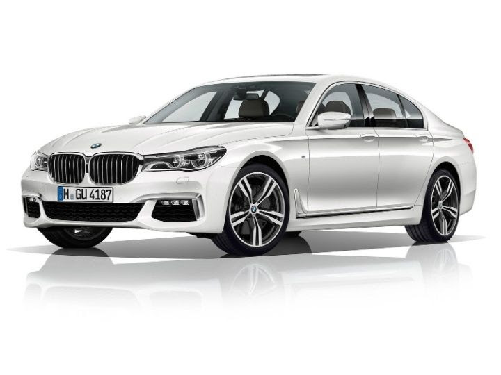 BMW 7 Series revealed front