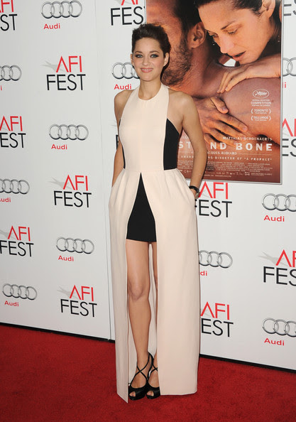 "Marion Cotillard - AFI FEST 2012 Presented By Audi - ""Rust And Bone"" Premiere - Arrivals"