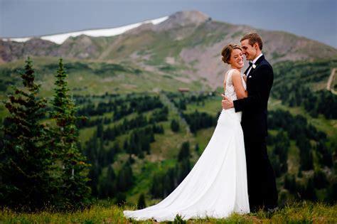 Top Colorado Mountain Wedding Photographers   Gillespie