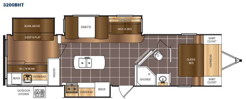 Fleetwood Mallard Tour Trailer Floor Plans Nora Taylor Blog