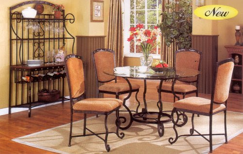 Iron Dining Room Chairs