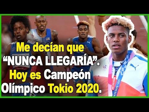 CONOZCA LA HISTORIA DEL SANJUANERO ALEXANDER OGANDO; CAMPEÓN DE LOS JUEGOS OLÍMPICOS TOKIO 2020