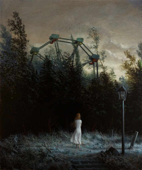 Aron Wiesenfeld  The Garden, 2012 [via Arrested Motion]