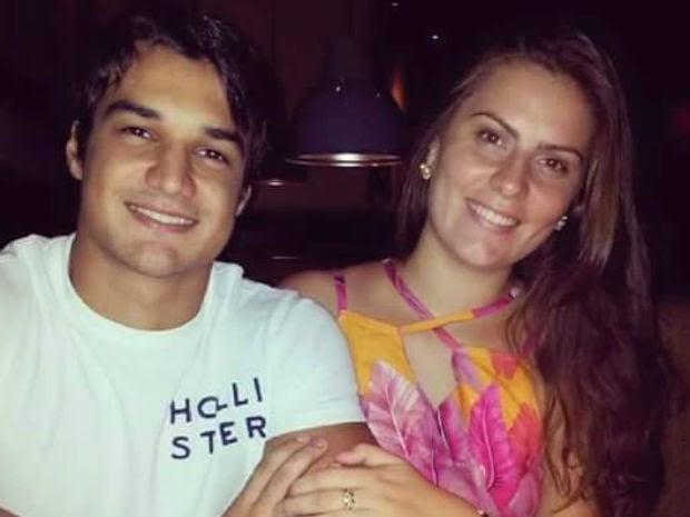 Jéssica e Bruno morreram em acidente de carro, em Vila Velha (Foto: Reprodução/ Facebook)