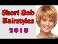 Short Bob Hairstyles 2018 With Fringe
