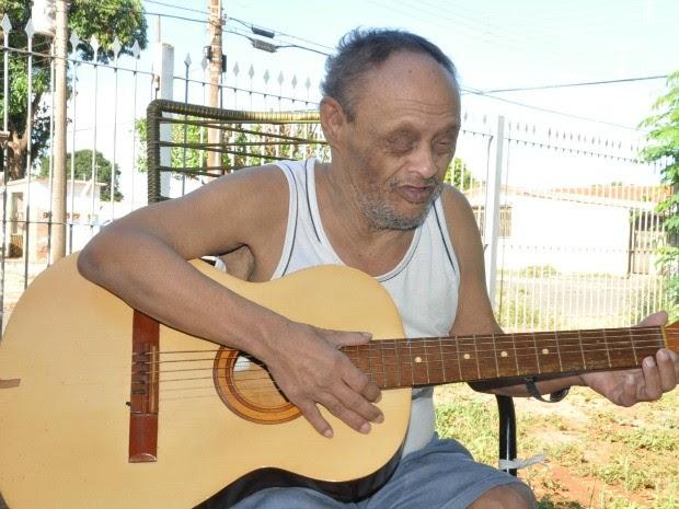Sul-mato-grossense quebra recorde como mais idoso com síndrome de Down (Foto: Fabiano Arruda/G1 MS)