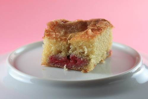 Food Librarian - Raspberry Buttermilk Cake