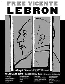 Vicente Lebron Benefit, 7/16