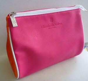 Elizabeth Arden Pink Makeup Cosmetics Bag, Large Size ...