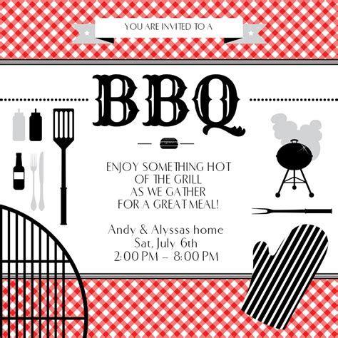 BBQ Essentials   BBQ Party Invitation Template (Free