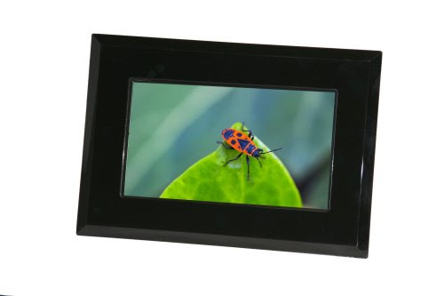 elta 8663 digitaler bilderrahmen 17 8 cm 7 zoll wide. Black Bedroom Furniture Sets. Home Design Ideas
