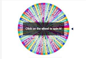 Random Anime Character Wheel