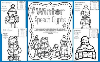 Winter Speech Glyphs