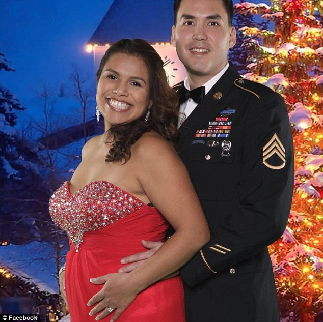 Sgt Booth, who is a Special Forces soldier at nearby Joint Base Lewis-McChord, had recently returned from his second deployment to Afghanistan