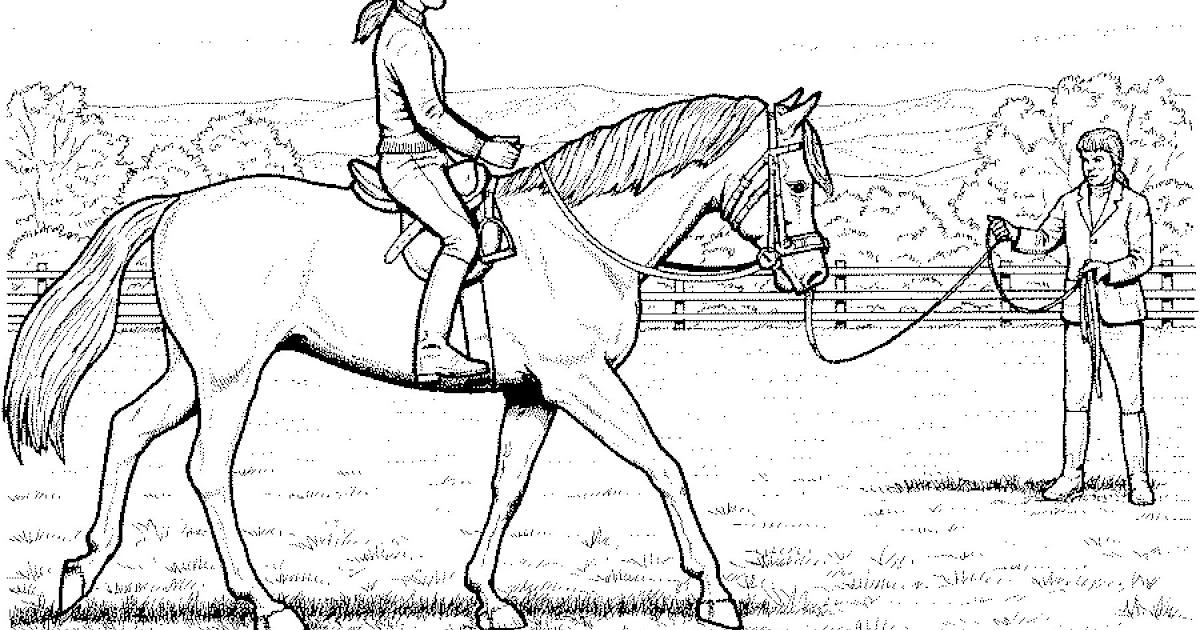 ausmalbilder pferde zum ausdrucken kostenlos