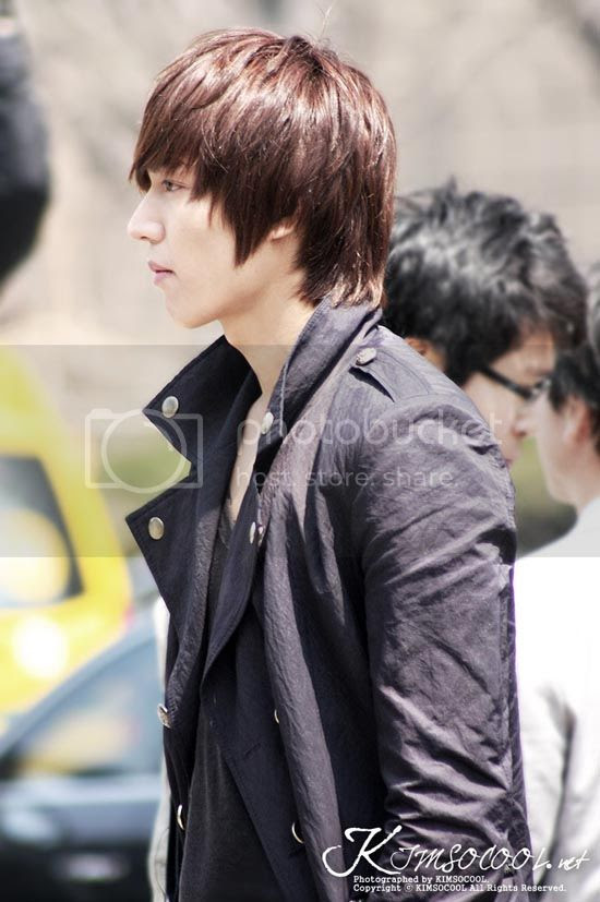Lee Min Ho City Hunter Hairstyle